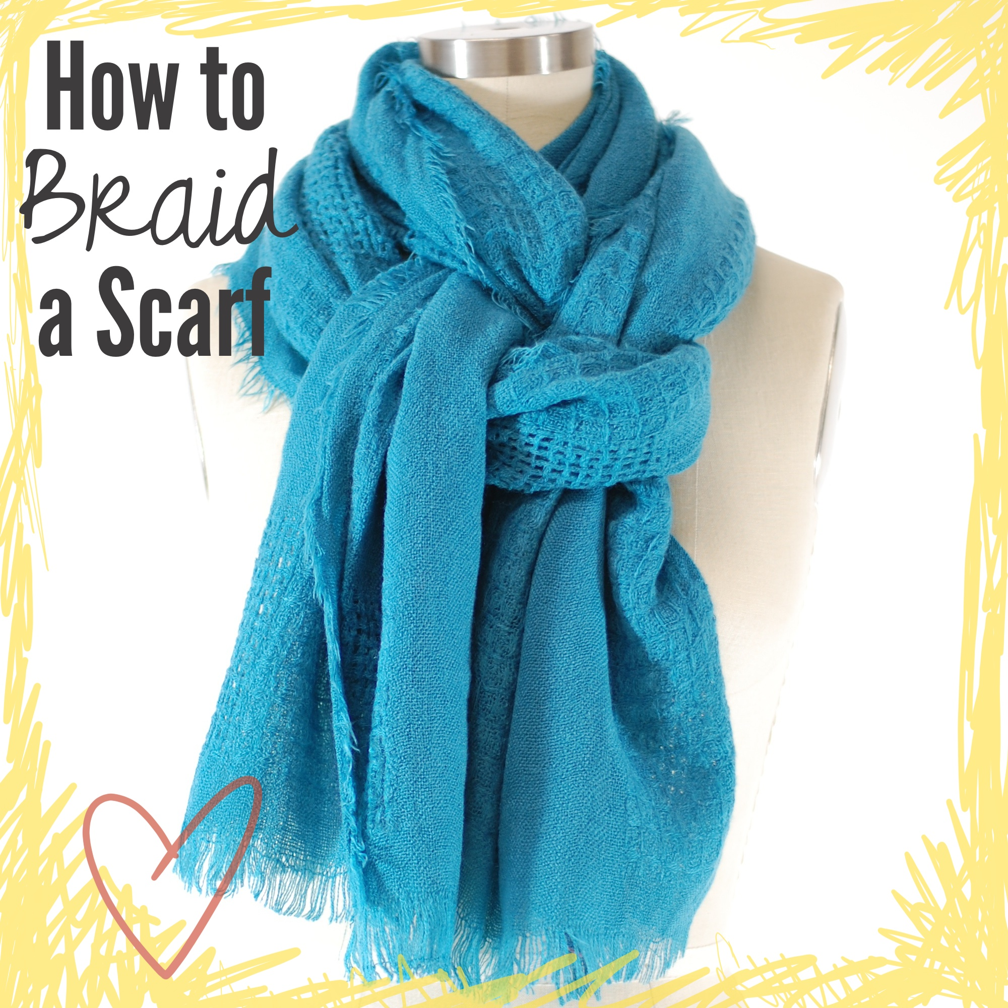 how to tie a four in style scarf pride in photos