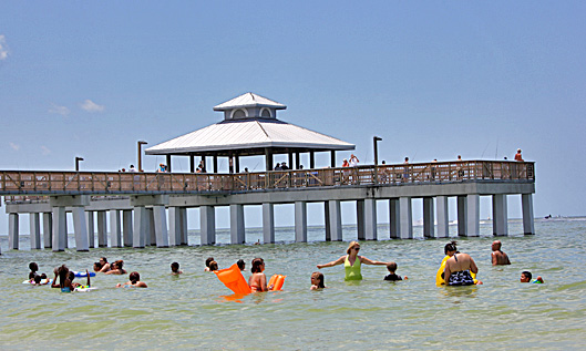 Summer s here fort myers beach florida pride in photos for Fort myers beach fishing pier