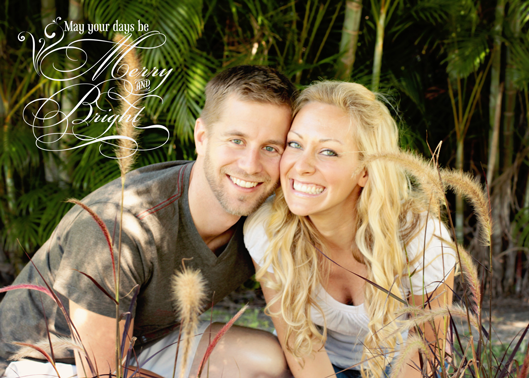beautiful-couple-at-christmas time fort myers florida photographer
