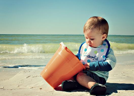 baby-boy-on-beach