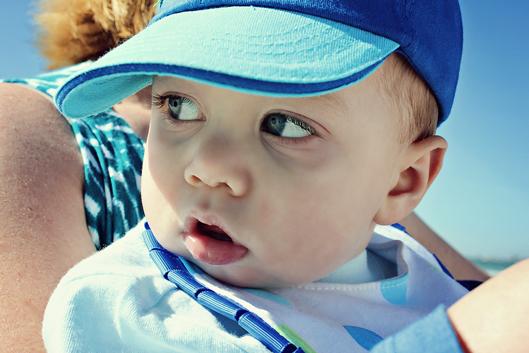 one-year-old-boy-at-beach