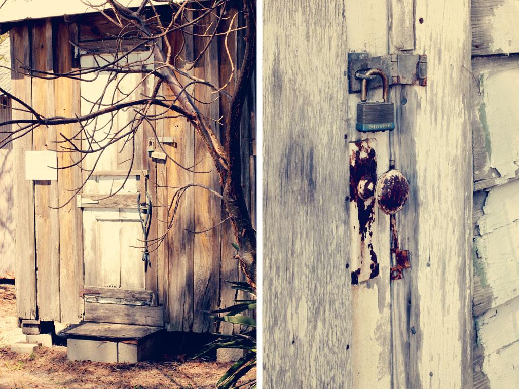 vintage-shed-rustic-lock