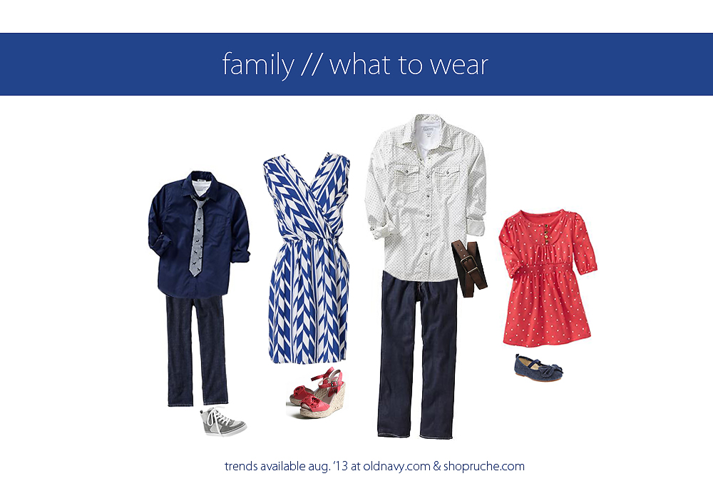 August 2013 What to Wear Family