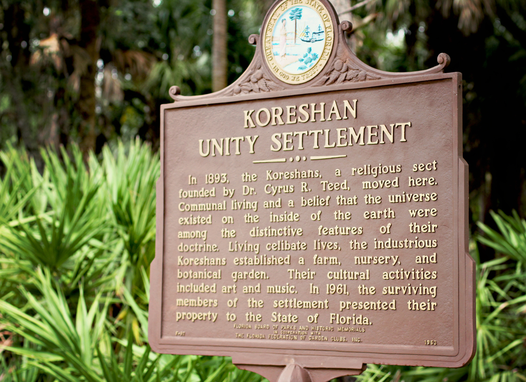koreshan-sign