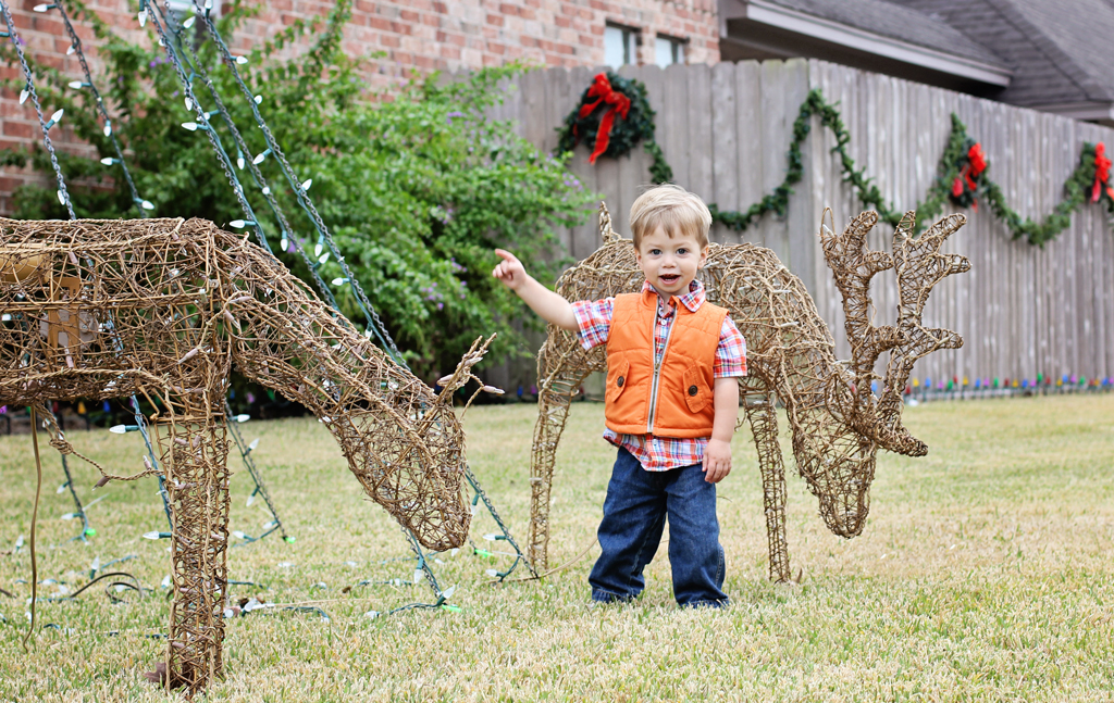 reindeer-2-year-old-boy-outside