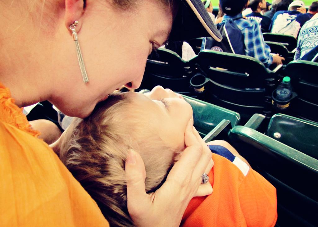 given-love-at-a-baseball-game