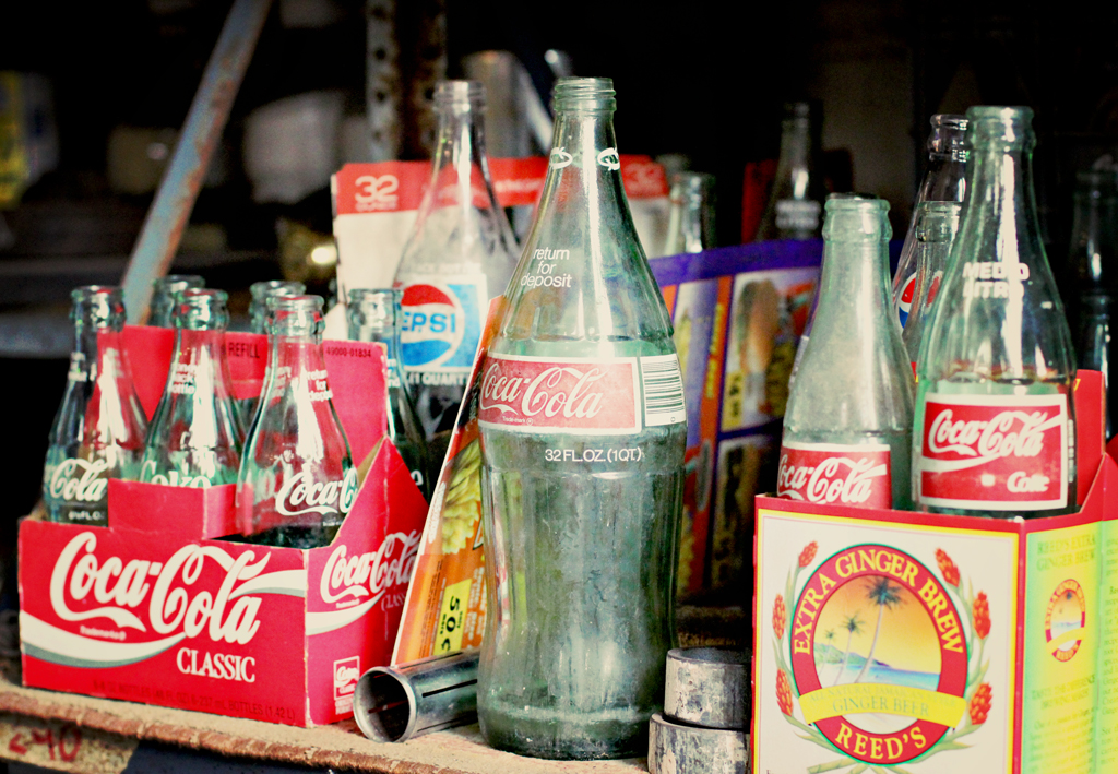 old-coke-bottles