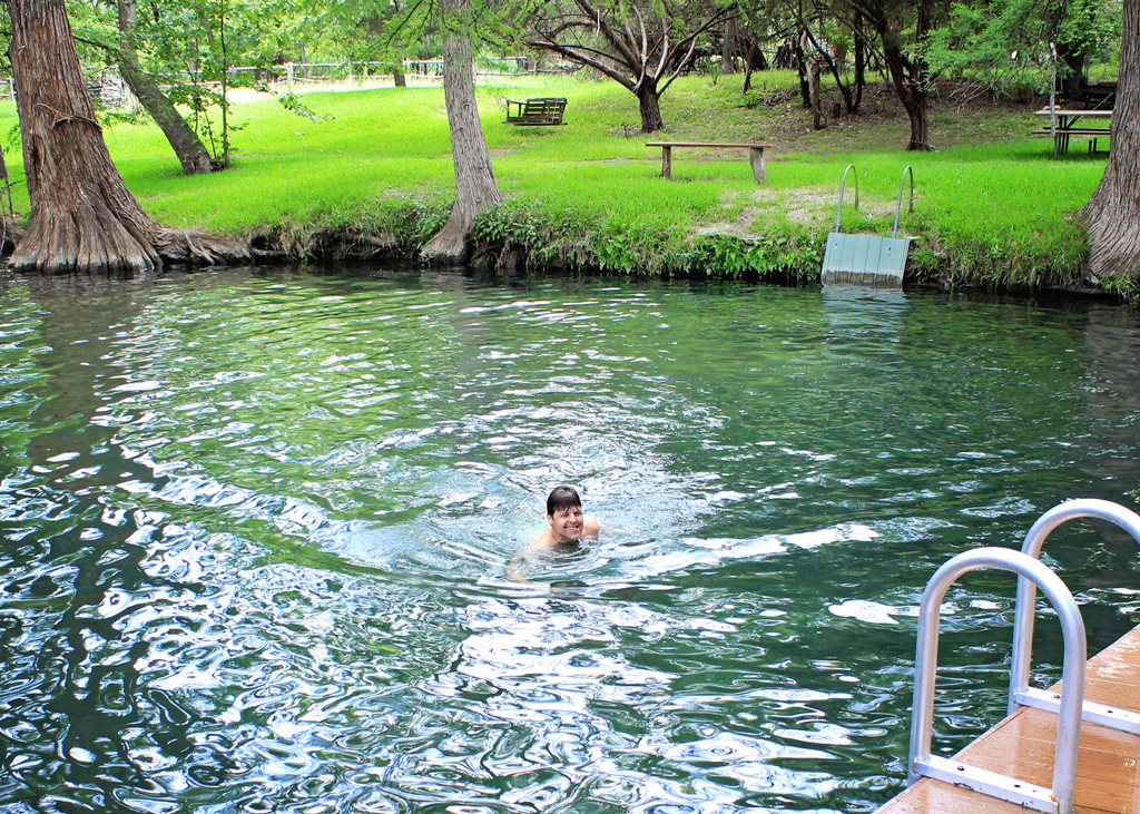 swimming-in-the-blue-hole-texas
