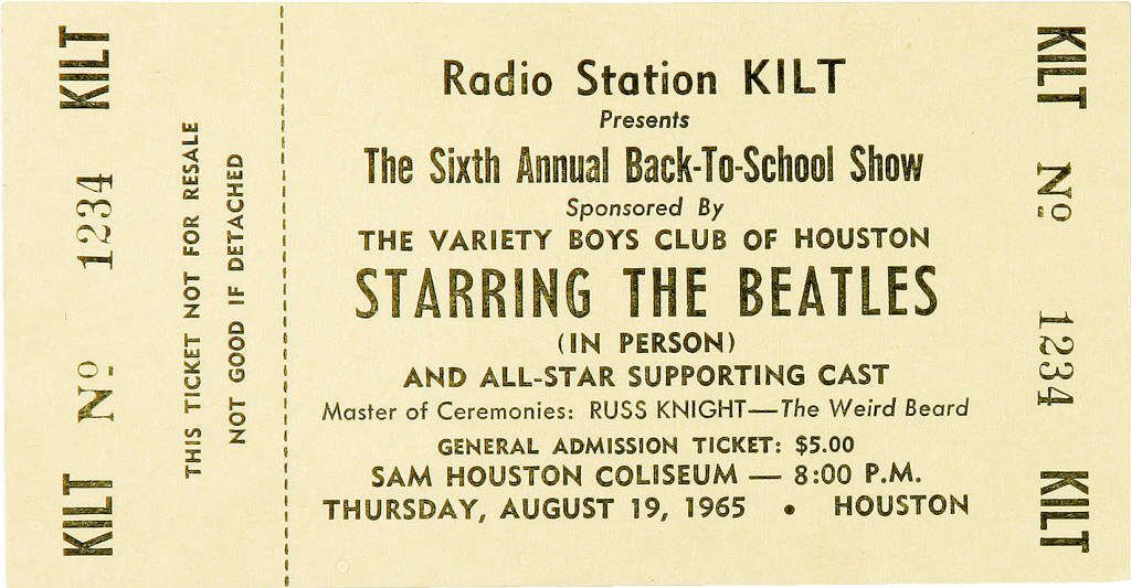 beatles-concert-ticket-in-houston