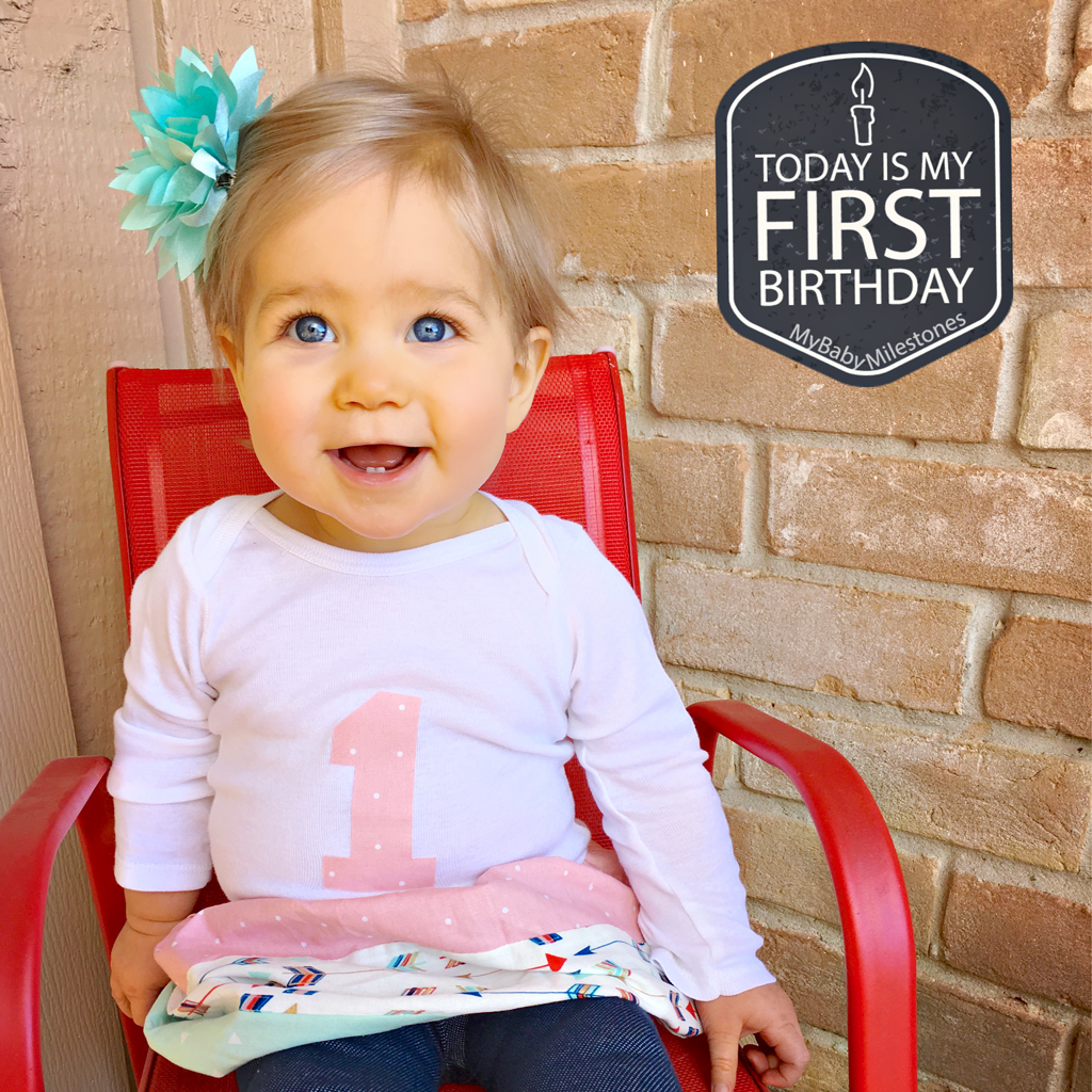 baby-girl-turns-one-year-old